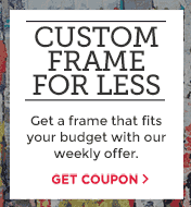 Custom Frame for less