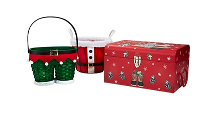 50% OFF ALL Christmas Baskets & Decorative Boxes
