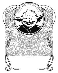 click to download - Star Wars Coloring Pages For Adults
