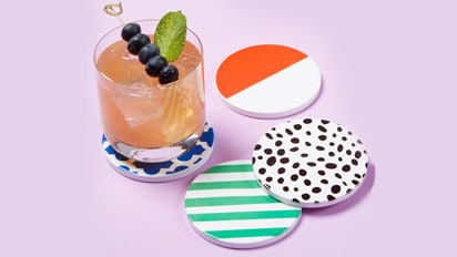 Featured Cricut® Project: Infusible Ink™ Geometric Coasters
