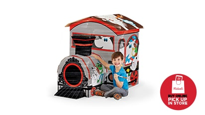 $18 EACH Kids' Color-In Playhouses by Creatology®. 3 ft. - 5 ft. tall. Reg. $30 Each. Buy Online Pick Up In-Store