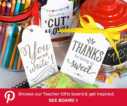 Pinterest Board – Teacher Gifts