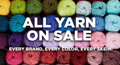 All Yarn On Sale Every Color, Every style, Every Skien.
