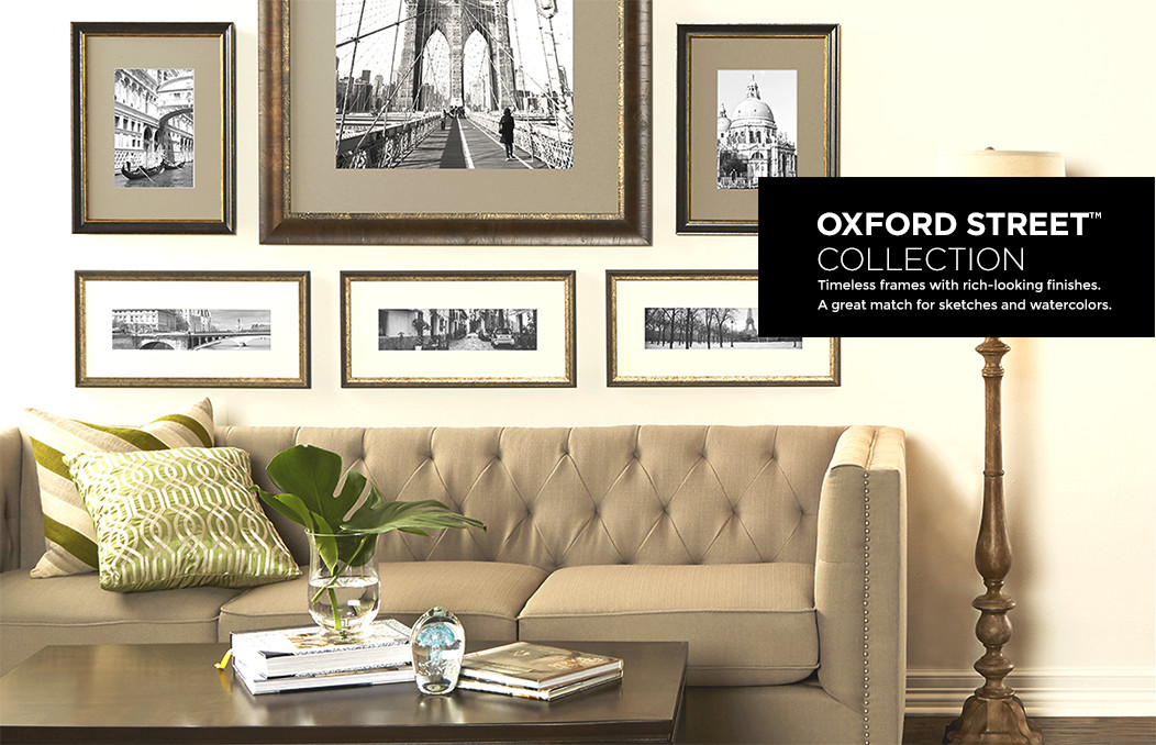 oxford street collection - Michaels Custom Framing