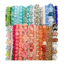 40% Off Green Label Strung Beads