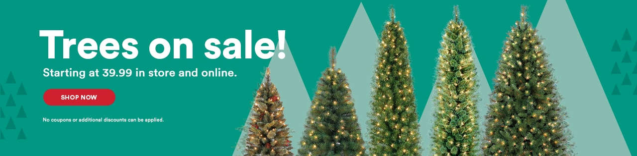 Instore & Online Tree are here! Get you pick of the lot today.