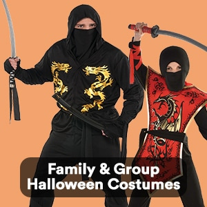 Family & Group Halloween Costumes