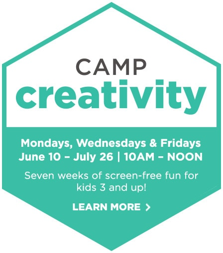 Sign up for Camp Creativity