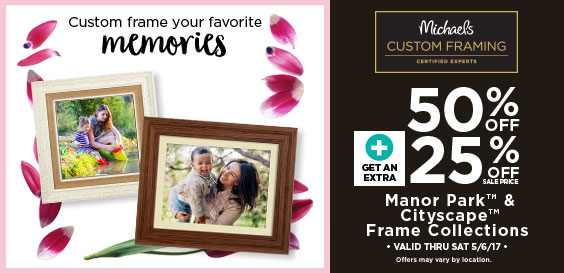 mothers day cf offer build a custom frame