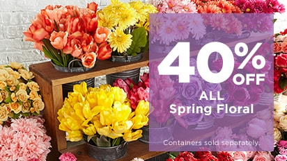 40% OFF ALL Spring Floral