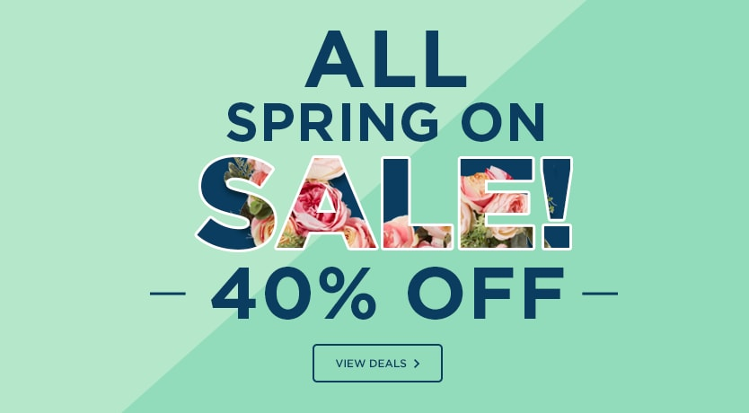 40 off all spring floral - Michaels Framing Prices