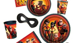 20% OFF Birthday Party Supplies, featuring The Incredibles, Minnie Mouse, Jurassic World & more.