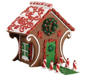 Chocolate Cookie Gingerbread House