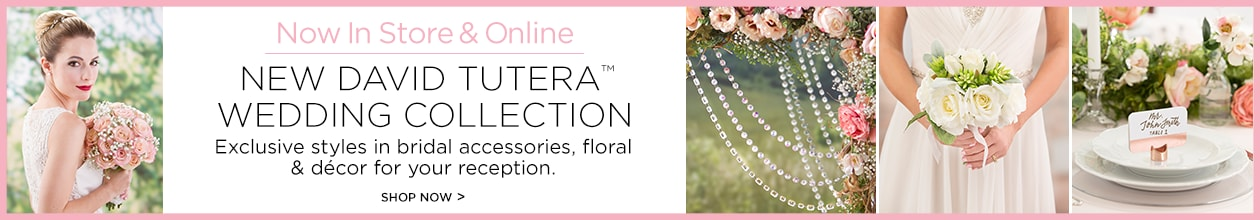 Now In Store & Online New David Tutera™ Wedding Collection