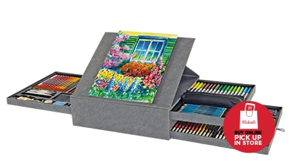 [Save 52.99] $27 Each 140 pc. Deluxe Drawing Art Set by Artist's Loft® Reg. 79.99 Each. Buy Online Pick Up In-Store