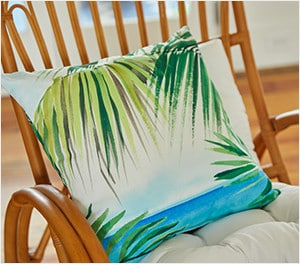Summer Pillows & Throws