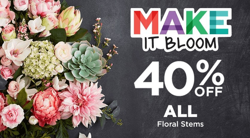 40% OFF All Floral Stems