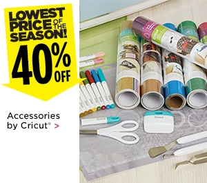 $40% Off Accessories by Cricut