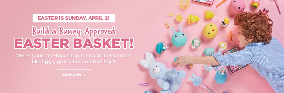 Build A Bunny-Approved Easter Basket