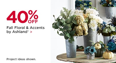 40% OFF Fall Floral & Accents by Ashland