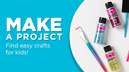 We've got easy projects for all your little makers.