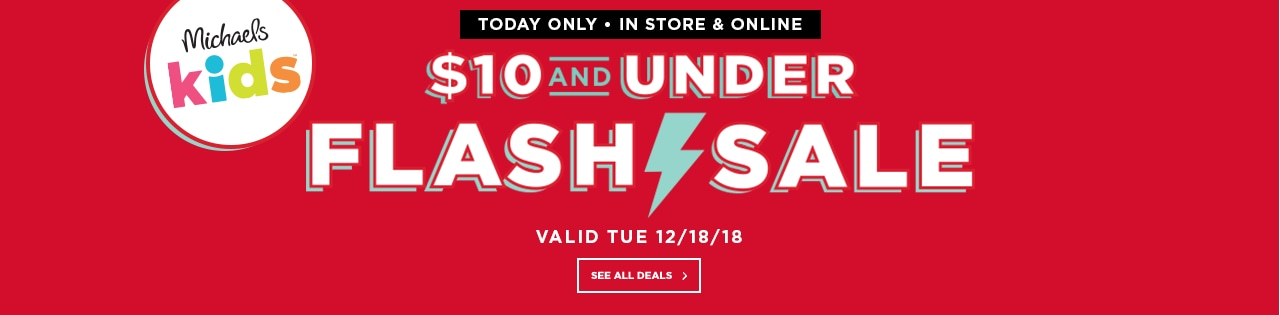 $10 and Under Flash Sale