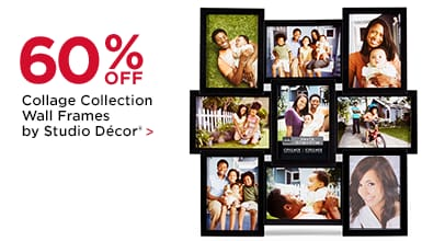 60% OFF Collage Collection Wall Frames by Studio Décor