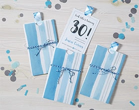 Patterned Party Invitation