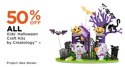 50% OFF ALL Kids' Halloween Craft Kits by Creatology