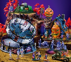 lemax spooky town collection - Michaels Halloween