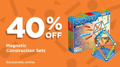 40% OFF Magnetic Construction Sets