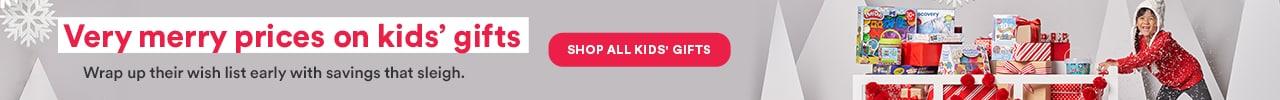 Very merry prices on kids' gifts. Shop All Kids Gifts >