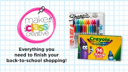 Make Class Creative – Everything you need to finish your back-to-school shopping!