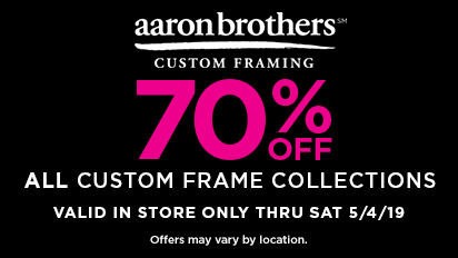 5b601869374a 70% OFF Entire Custom Frame Collection