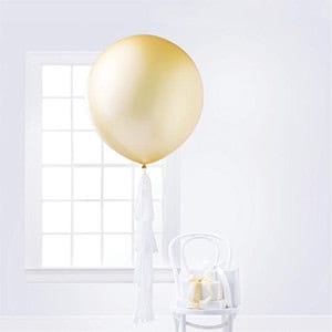 Latex Balloon with Tassels
