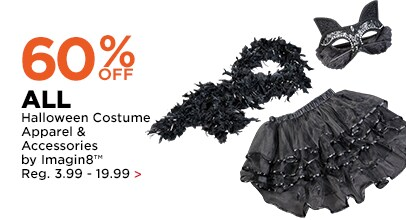 60% OFF Halloween Costume Apparel & Accessories by Imagin8
