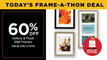 60% OFF Gallery & Float Wall Frames