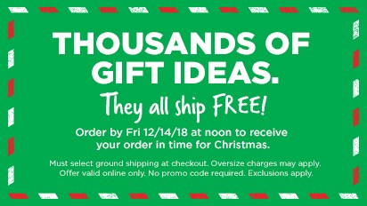 1000s of Gifts Ship Free