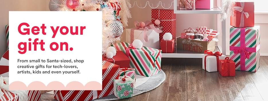 Give holiday magic. The gifts they'll want to play with right away! Explore creativity-sparking kids' gifts, art supplies from top brands and the latest from Cricut®