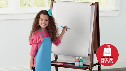 60% OFF Kids Wooden Floor Easel by Creatology™. Buy Online Pick Up In-Store